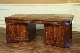 leather partners desk high office furniture