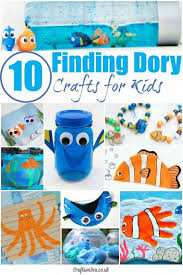 10 finding dory crafts kids love children happy