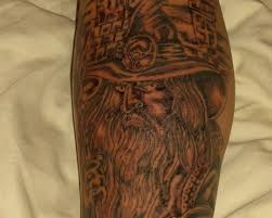white wizard tattoo image photos pictures and sketches