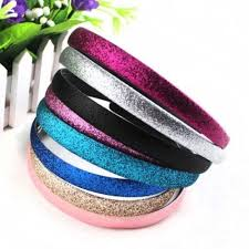 glitter headbands 2 pcs pack fashion glitter headbands sparkling hoop