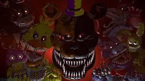 halloween background deviantart fnaf4 2spoopy 5me sfm poster 4k by chibihearts249 on