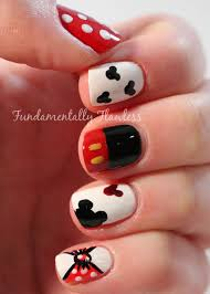 nailove2807 disney themed halloween nails mickey minnie 268 best