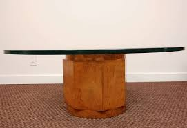 Pedestal Coffee Table Base Pedestal Coffee Table Dans Design Magz Glass