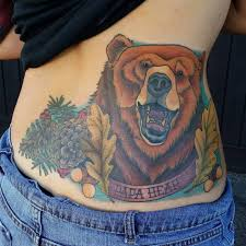 150 cute bear tattoos and their meanings 2017 collection