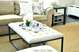 Trays For Coffee Table Ottomans Ottoman With Tray Table Image Result For Ottoman Tray Decor