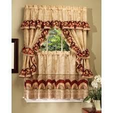 Sunflower Curtains Kitchen by Elegant Kitchen Curtains Captainwalt Com