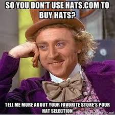 Hat Meme - to meme or not to meme hats com blog