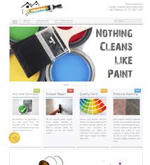 painting contractor website applied cms technology llc