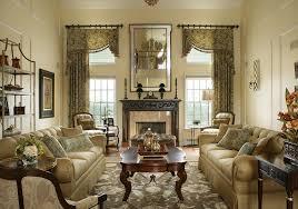 TallwindowtreatmentsFamilyRoomContemporarywitharearugs - Family room window treatments