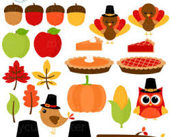 thanksgiving clipart etsy