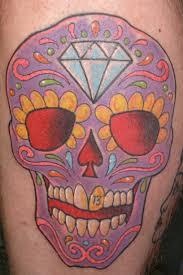 day of dead skull