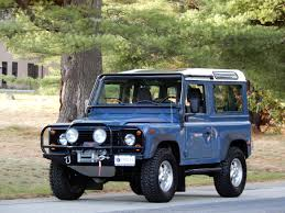 vintage range rover defender 1995 land rover defender nas one owner 7 750 miles classic