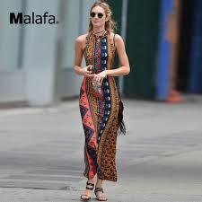 women backless bodycon floral print dress summer african
