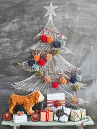 recycled christmas decorations for kids ne wall