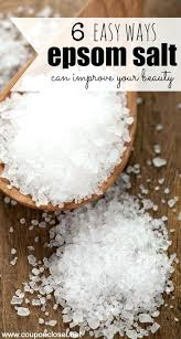 epsom salt vs table salt difference between epsom salt and table salt sea salt vs table salt