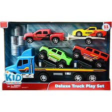 kid connection deluxe gm truck play set walmart com