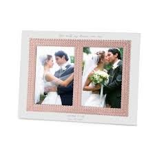5x7 Wedding Photo Albums Personalized Aegean Rose Double 5x7 Wedding Invitation Frame