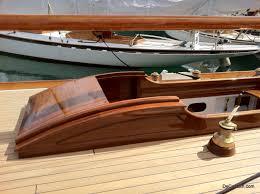 beautifully varnished wood sailboat de captain u0027s sailing