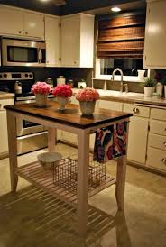 how to build a movable kitchen island best 25 mobile kitchen island ideas on kitchen island