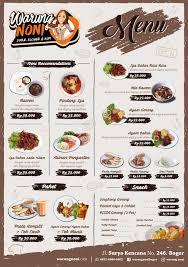 Teh Noni warung noni menu menu for warung noni bogor tengah bogor zomato