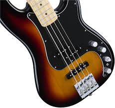 fender deluxe active p bass special maple fingerboard 3 color