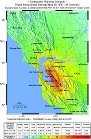 San Francisco Area Map by Elevation Maps Seismic Maps And Subsidence Maps Of The Sacramento