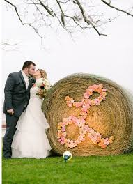 Monogram On A Hay Roll Photo Luke And Cat Photography Houston