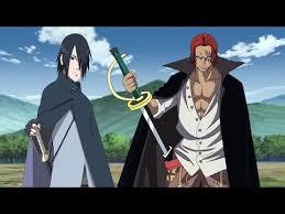 sasuke vs sasuke vs shanks