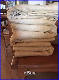 Emery Drapes 4 Pottery Barn Emery Linen Cotton Blackout Drapes 50 X 108 Wheat