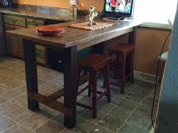 Kitchen Island Bar Height Kitchen Brilliant Best 25 Island Table Ideas On Pinterest Booth