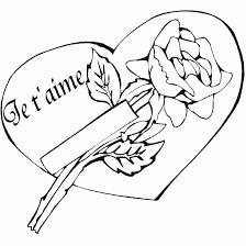 63 dessins de coloriage rose et coeur à imprimer sur laguerche com