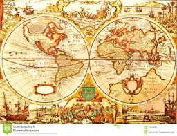 Large Vintage World Map by Antique Stock Photos Images U0026 Pictures 1 045 555 Images