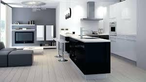 cuisine blanche sol noir cuisine blanche couleur mur photos de design d intérieur et