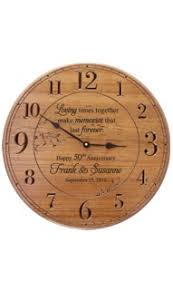 personalized anniversary clocks pgsgbia13an thumb jpg