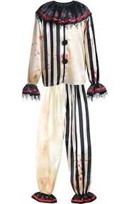 Scary Clown Costumes Halloween Amazon Carver Killer Clown Costume Clothing Halloween
