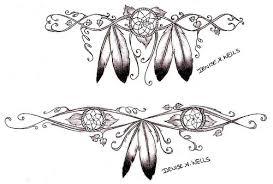 amazing grey ink wolf dreamcatcher design