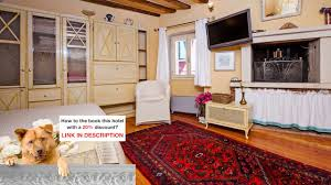 cozy studio del monte rovinj croatia the right price youtube