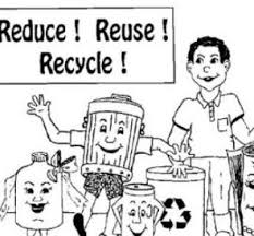 sorting your recycling coloring page free coloring pages online