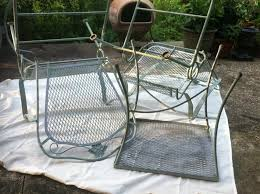 Best Way To Paint Metal Patio Furniture Fancy Used Patio Furniture Repainting Patio Furniture Auntie