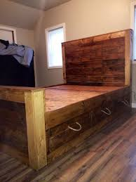 Making A Pallet Bed Beautiful Pallet Box Spring With How To Make A Pallet Bed