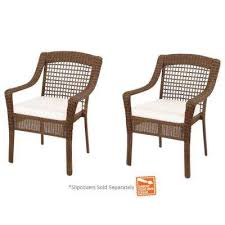 Plastic Stackable Patio Chairs Stackable Outdoor Dining Chairs Patio Chairs The Home Depot