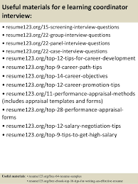 Bank Reconciliation Resume Sample by Top 8 E Learning Coordinator Resume Samples