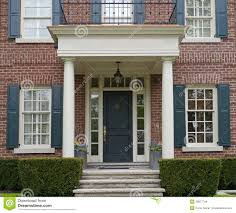 house porch clever front door house front door of house with porch stock images