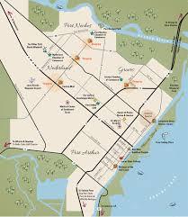 map port maps visit port arthur