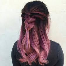 weave hairstyles with purple tips hair pink and hairstyle image dyed hair ombre dyed hair