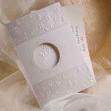 tri fold wedding invitations modern deco tri fold laser cut wedding invitations