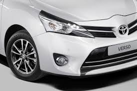 toyota verso 2013 toyota verso compact mpv facelift sports more revisions than