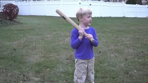 792bl foam home run woodgrain bat u0026 ball poof revised youtube