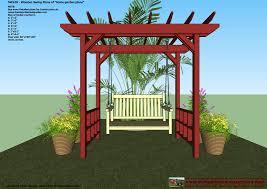 Pergola Swings 28 Backyard Swing Plans 25 Best Ideas About Arbor Swing On