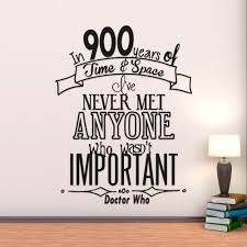Doctor Who Home Decor by Doctor Who Quote In 900 Years Of Time U0026 Space I U0027ve Never